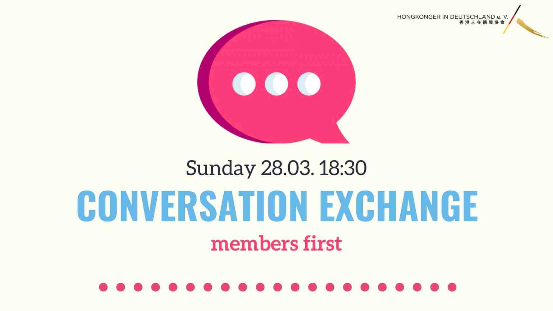 English conversation exchange